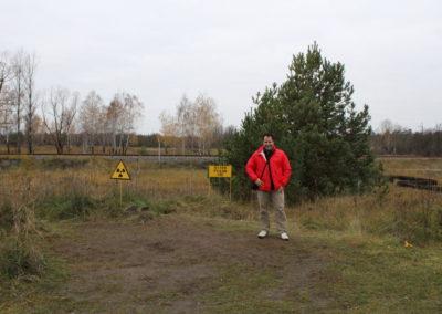 Me and a radioactive tree