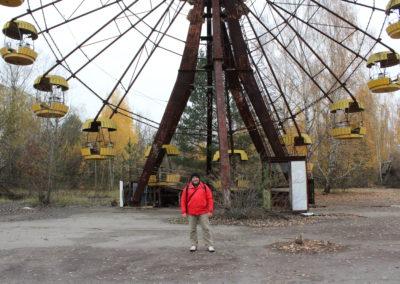 Iconic ferris wheel